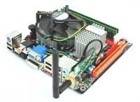 Deutschland-Premiere : Zotac GeForce 9300-ITX WiFi Testbericht